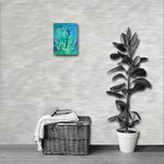 ELEPHANTS Painting Canvas Print 12x16 to 24x36