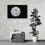 DIAMOND Painting Canvas Print 12x12 to 24x36