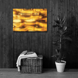 LIQUID GOLD Painting Canvas Print 12x12 to 36x24