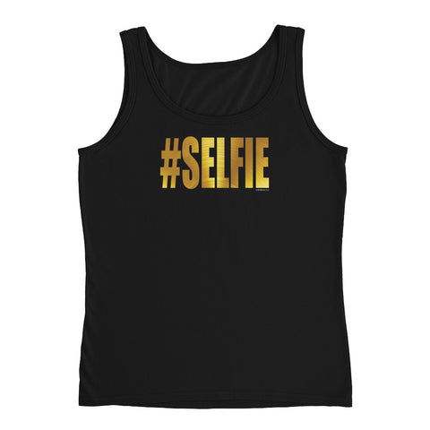 GOLDEN #SELFIE Women's Tank - Size S-XL - 3 Colors