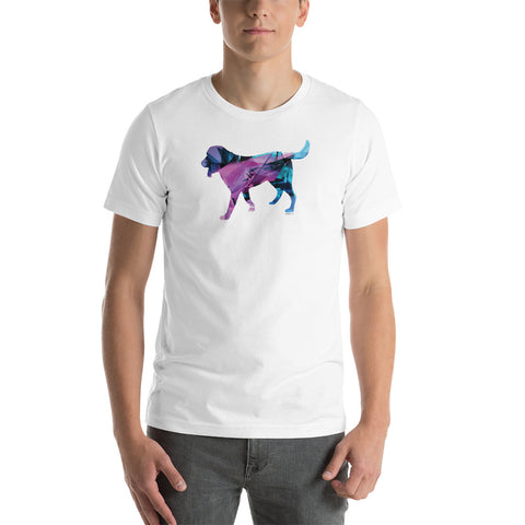 SCI-FI DOG Men's Short Sleeve T-Shirt - Size XS-4XL - 7 Colors
