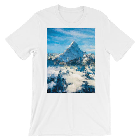 MOUNT EVEREST Unisex Short-Sleeve  T-Shirt - S-XL - 5 Colors