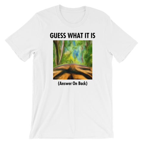 GUESS THAT TIGER Unisex Short-Sleeve T-Shirt White