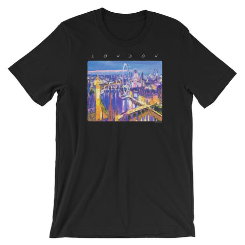LONDON IS WAITING Unisex Short Sleeve T-Shirt - Size S-XL - 10 Colors