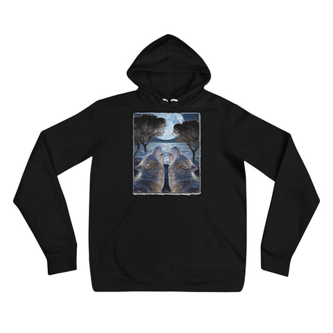 MOON WOLVES Unisex Hoodie - S-XL - 4 Colors