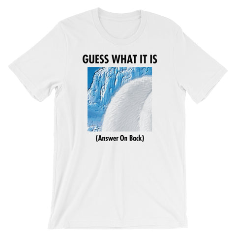 GUESS THAT POLAR BEAR Unisex Short-Sleeve T-Shirt White