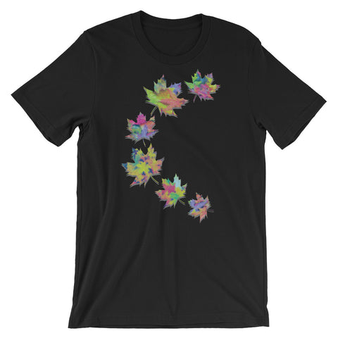 FALL LEAVES Unisex Short-Sleeve  T-Shirt - XS-XL - 2 Colors