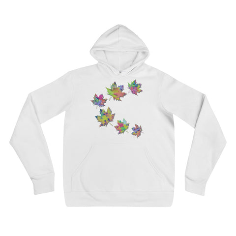 FALL LEAVES Unisex Hoodie - S-XL - 2 Colors