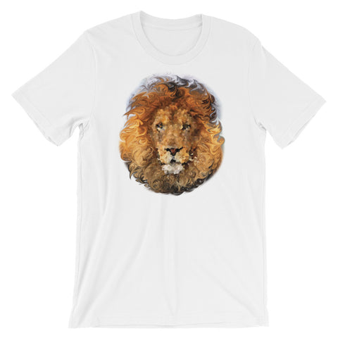 LION Unisex Short Sleeve T-Shirt - Size S-XL - 14 Colors