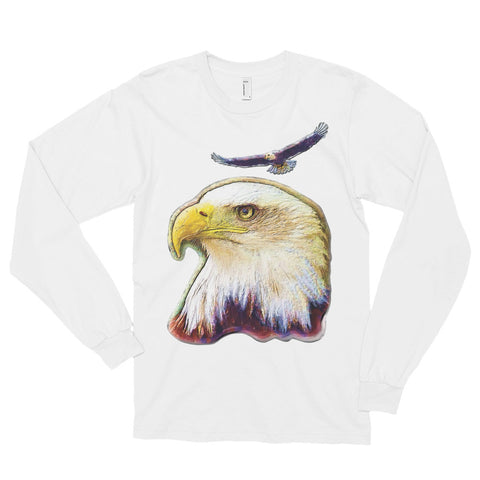 FLYING EAGLE Unisex Long Sleeve T-Shirt - Size S-XL - 4 Colors