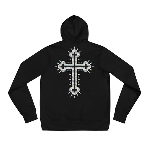 CROSS SHINING Unisex Hoodie - S-XL - 2 Colors