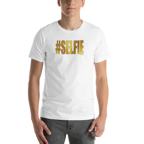 GOLDEN #SELFIE Unisex Short-Sleeve Unisex T-Shirt - Size XS-XL - 1 Color
