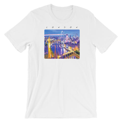 LONDON IS WAITING Unisex Short Sleeve T-Shirt - Size S-XL - 7 Colors