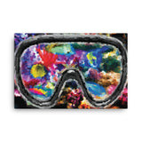 CORAL REEF Painting Canvas Print 12x16 to 24x36