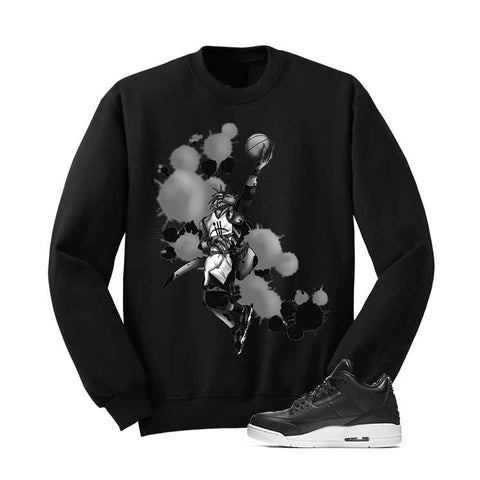 JORDAN 3 CYBER MONDAY BLACK T SHIRT (BASKETBALL RAPTOR) - Holford soCiety Jordan T-shirt Tees