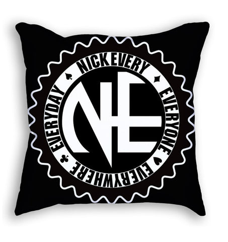 NE Pillow (black) - Holford soCiety Jordan T-shirt Tees