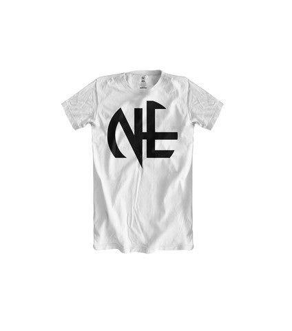 BOYS NE BIG LOGO TSHIRT (WHITE BLACK) - Holford soCiety Jordan T-shirt Tees
