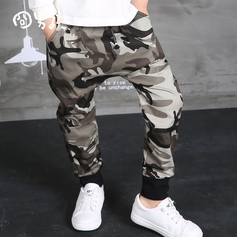 Black camouflage Leisure Sports Pants kids Boys Big Crotch stripe Pants - Holford soCiety Jordan T-shirt Tees