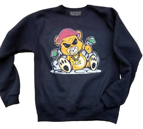 OFCC Money Bear Crewneck - Holford soCiety Jordan T-shirt Tees