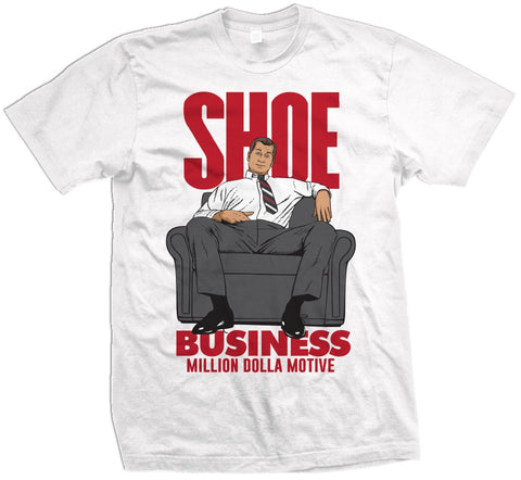 SHOE BUSINESS - WHITE T-SHIRT - Holford soCiety Jordan T-shirt Tees