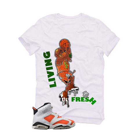 GATORADE 6 White T (LIVING FRESH) - Holford soCiety Jordan T-shirt Tees