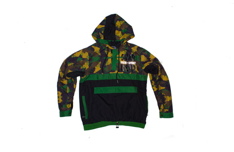 SNKR HEAD Tech-Sport International Windbreaker Jacket (sneaker camo)