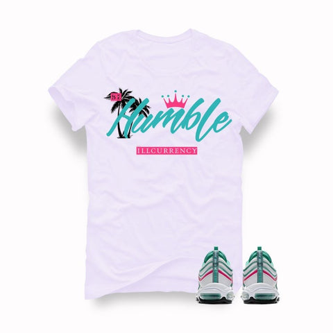 Air Max 97 South Beach White T (Be Humble) - Holford soCiety Jordan T-shirt Tees
