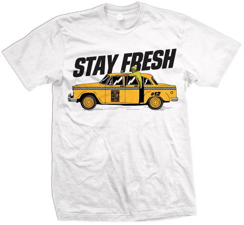 STAY FRESH - WHITE T-SHIRT - Holford soCiety Jordan T-shirt Tees