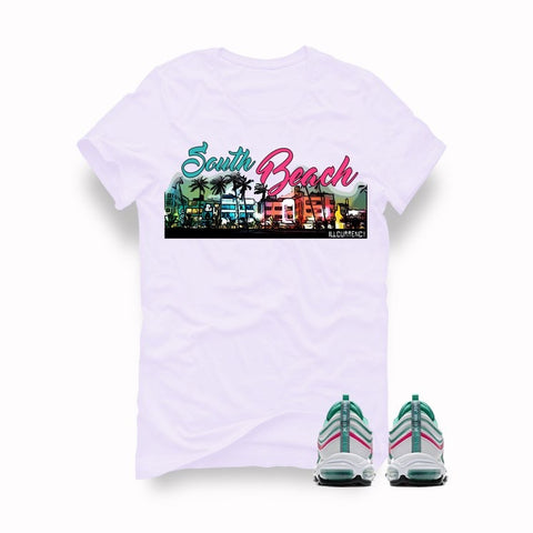 Air Max 97 South Beach White T (South Beach city) - Holford soCiety Jordan T-shirt Tees