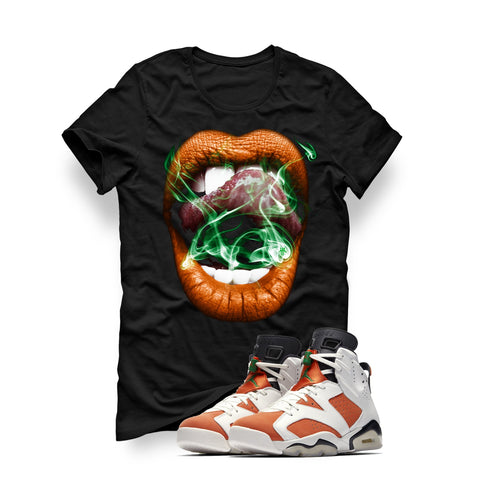 GATORADE 6 Black T (Smoke N Lips) - Holford soCiety Jordan T-shirt Tees