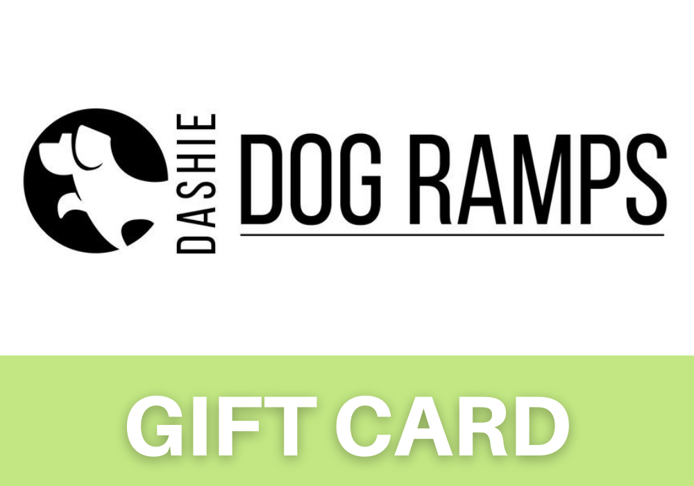 Dashie Dog Ramp Gift Card