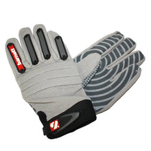 Load image into Gallery viewer, FKG-02 American Football Handschuhe Linebacker, LB,RB,TE, grau
