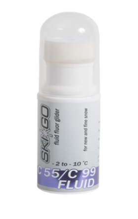FLUORO FLUID GLIDE WAX  TOPCOATS C55/C99 fluid