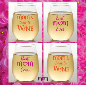 MOM Shatterproof Wine Glasses