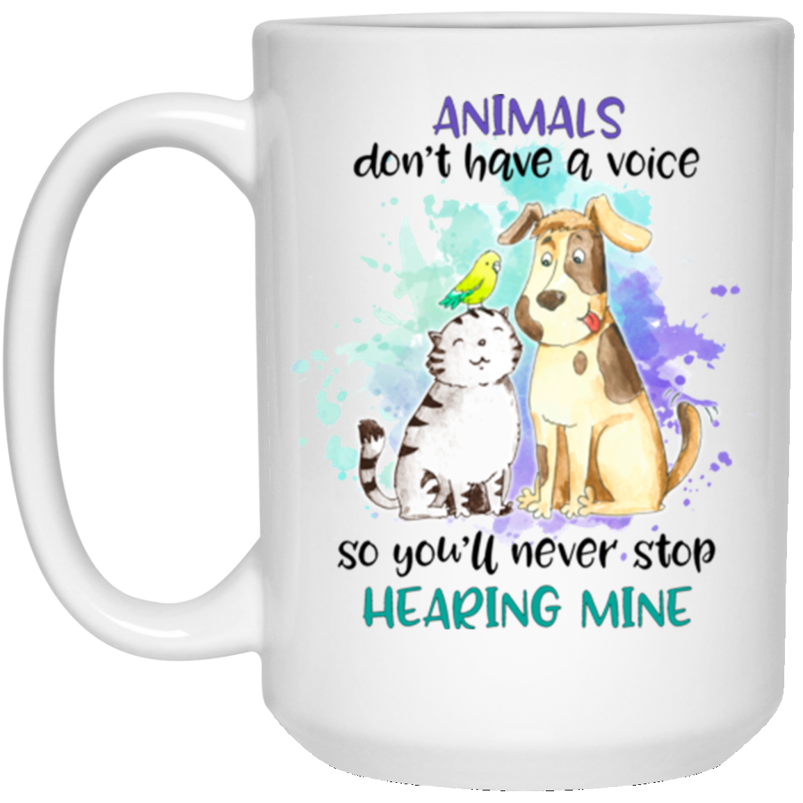 Animals Don't Have a Voice