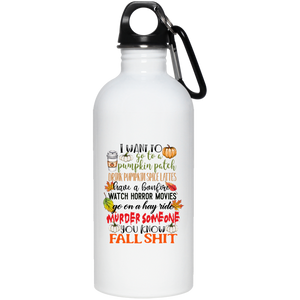 Fall Shit Water Bottle