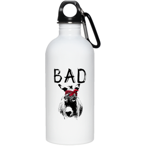 Bad A*# Stainless Steel Water Bottle