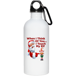 Touch My Elf Water Bottle