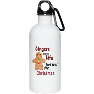 Ginger For Life Water Bottle