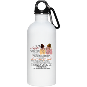 Besties Stainless Steel Water Bottle