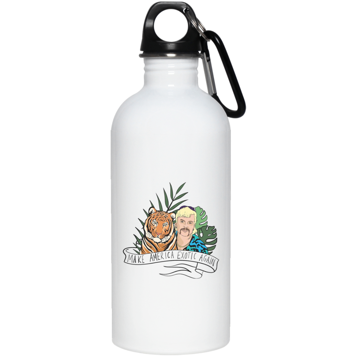 Make America Exotic Again Stainless Steel Water Bottle