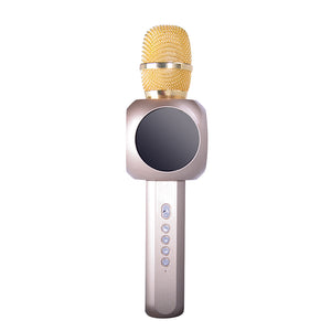 Metallic Fashion Bluetooth Microphone