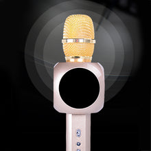 Load image into Gallery viewer, Metallic Fashion Bluetooth Microphone