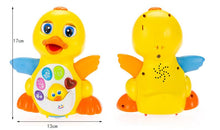 Load image into Gallery viewer, Babies Flaping Singing Duck toy