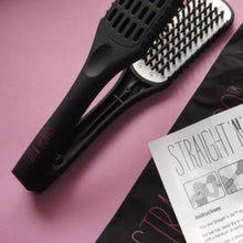 Load image into Gallery viewer, straight n go brush hair straightener comb