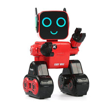 Load image into Gallery viewer, LEORY R4 Cute RC Robot With Piggy Bank Voice Control Intelligent Robot Remote Control Gesture Control For Children Education