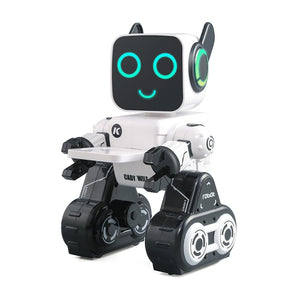 LEORY R4 Cute RC Robot With Piggy Bank Voice Control Intelligent Robot Remote Control Gesture Control For Children Education