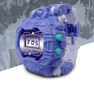 Transforming Robot Puzzle Watch