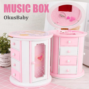 Girls Musical Box And Drawers