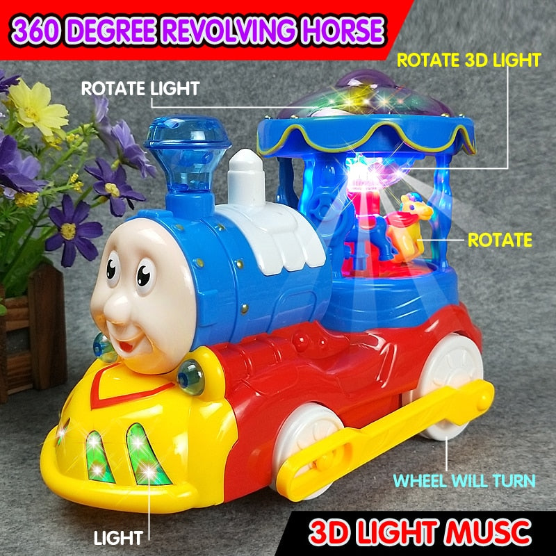 Baby Toys Electrical Universal Toy for Children Kids 1-2-3-4 years old Electric Train Kids Early Learning Educational Toys